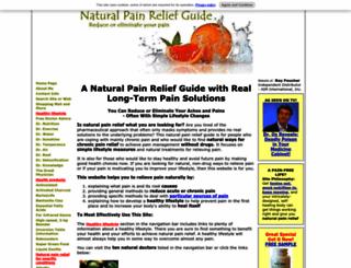 natural-pain-relief-guide.com screenshot