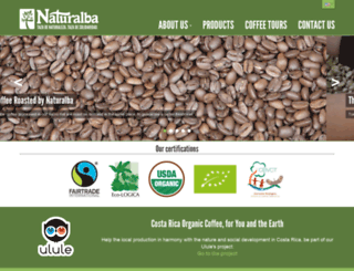naturalba.agwa-web.com screenshot