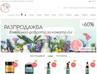 naturalcare.bg screenshot