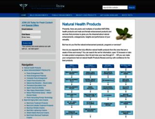naturalenhancementsreviews.com screenshot