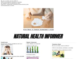 naturalhealthinformer.com screenshot