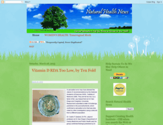 naturalhealthnews.blogspot.co.il screenshot