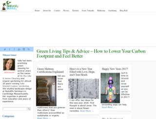 naturallybubbly.com screenshot