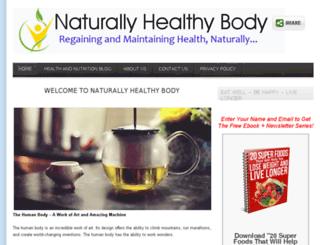 naturallyhealthybody.com screenshot