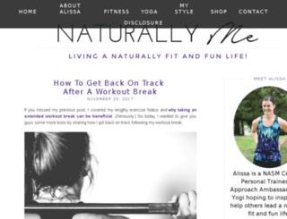 naturallymeblog.com screenshot