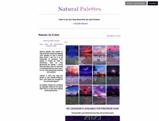 naturalpalettes.tumblr.com screenshot