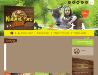 naturalparc.com screenshot