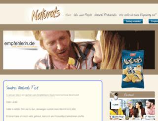 naturals-salz-pfeffer.empfehlerin.de screenshot