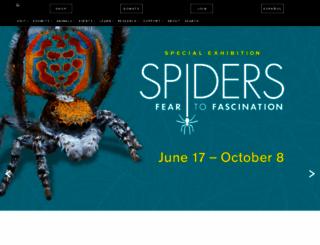 naturalsciences.org screenshot