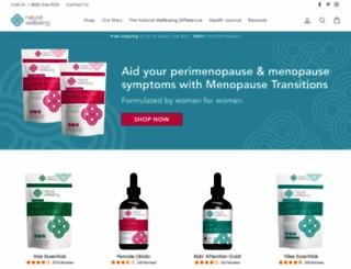 naturalwellbeing.com screenshot