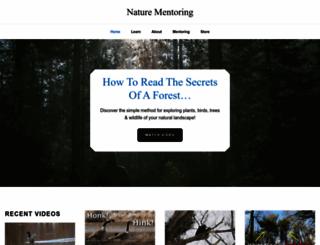 nature-mentor.com screenshot