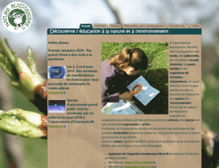 naturebuissonniere.com screenshot