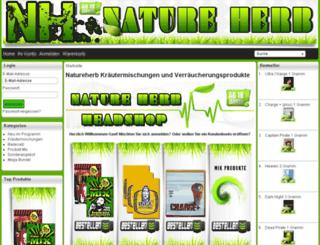 natureherb.de screenshot