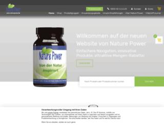 naturepower.ch screenshot