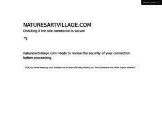 naturesartvillage.com screenshot