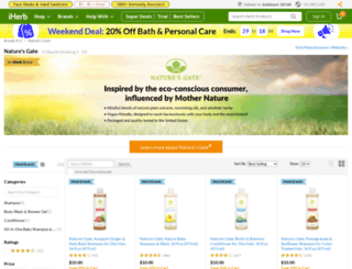 naturesgate.com screenshot
