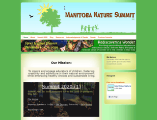 naturesummitmb.com screenshot
