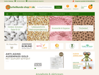 naturheilkunde-shop24.de screenshot