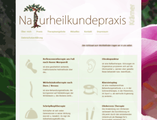 naturheilkundepraxis-kraemer.de screenshot