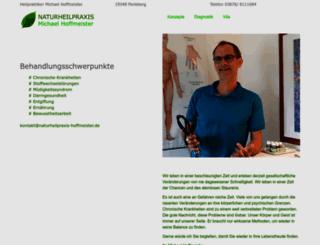 naturheilpraxis-hoffmeister.de screenshot