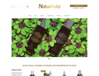 naturindia.com.co screenshot