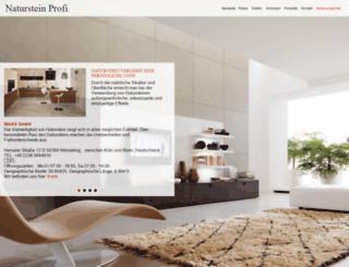 naturstein-profi.com screenshot