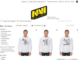 natus-vincere.ru screenshot