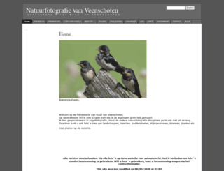 natuurfotografie.vanveenschoten.nl screenshot