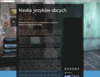 naukajezykow.blogspot.de screenshot