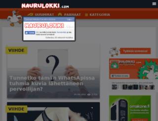 naurulokki.com screenshot