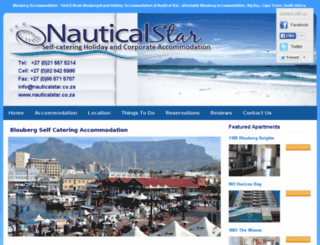 nauticalstar-accommodation.com screenshot