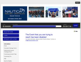 nauticamalibutri2015.kintera.org screenshot