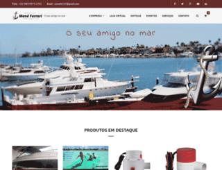 nauticamaneferrari.com.br screenshot
