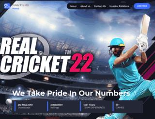 nautilusmobile.com screenshot