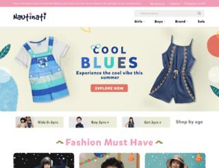 nautinati.com screenshot