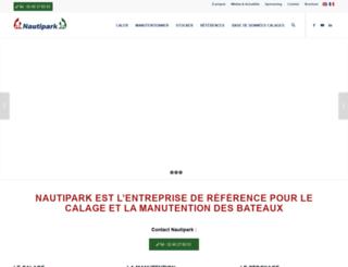 nautipark.com screenshot