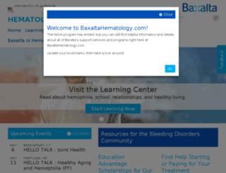 nava.baxter.com screenshot