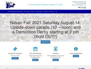 navanfair.com screenshot