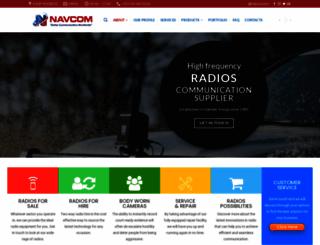 navcomltd.com screenshot