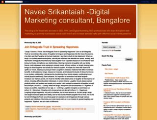 naveen-srikantaiah.blogspot.com screenshot
