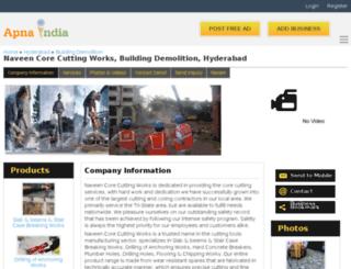 naveenccworks-hyderabad.apnaindia.com screenshot