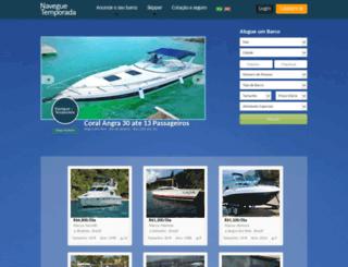 naveguetemporada.com.br screenshot