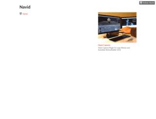 navid.itch.io screenshot