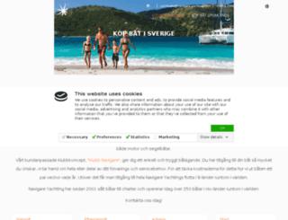 navigareyachts.com screenshot