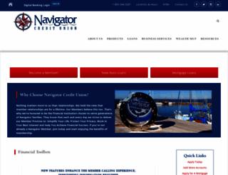 navigatorcu.org screenshot