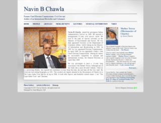 navinchawla.com screenshot