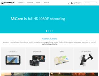 navmanstores.com.au screenshot