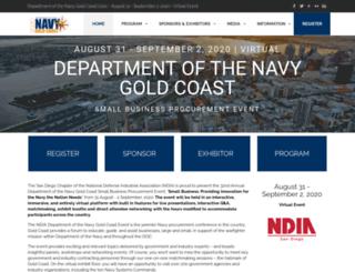navygoldcoast.org screenshot