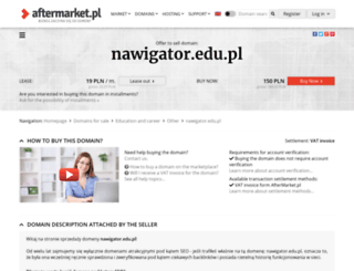 nawigator.edu.pl screenshot