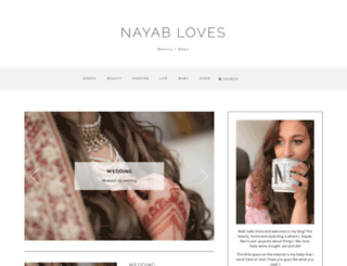 nayabloves.com screenshot